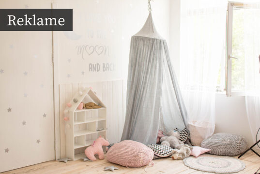 Børneværelse med stil